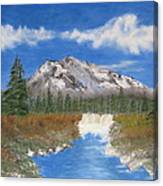 Rocky Mountain Creek Canvas Print