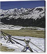 Rocky Mountain Gorge Canvas Print