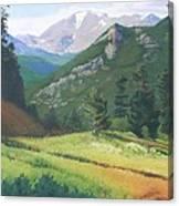 Rocky Mountain Grandeur Canvas Print