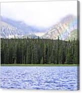 Rocky Mountain Rainbow Canvas Print