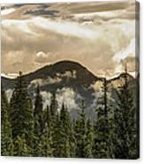 Rocky Mountain Red Canvas Print