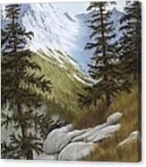 Rocky Mountain Solitude Canvas Print