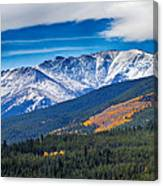 Rocky Mountains Independence Pass Canvas Print
