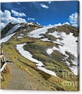 Rocky Mountains Path Canvas Print