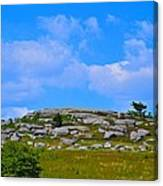 Rocky New England Hill Canvas Print