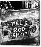Rod Shop Truck Canvas Print