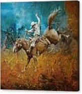 Rodeo 001 Canvas Print