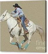 Rodeo 44 Canvas Print