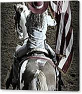 Rodeo America Canvas Print