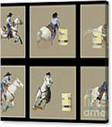 Rodeo Collage 2 Canvas Print