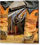 Rodeo Cowboy Tools Of The Trade Canvas Print