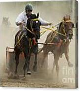 Rodeo Eat My Dust 1 Canvas Print
