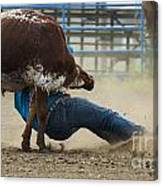 Rodeo Getting Down Canvas Print