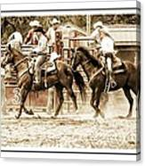 Rodeo Grandentry Canvas Print