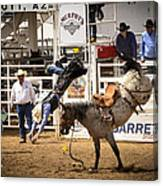 Rodeo High Flyer Canvas Print