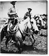 Rodeo Men Canvas Print