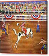 Rodeo One Canvas Print