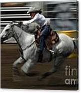 Rodeo Riding A Hurricane 1 Canvas Print