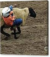 Rodeo Velcro Rider 2 Canvas Print