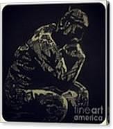 Rodin Canvas Print