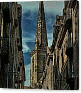 Cathedrale Saint-vincent-de-saragosse De Saint-malo Canvas Print
