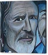 Roger Alan Wade Kris Kristoferson Billy Joe Shaver Canvas Print