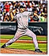Roger Clemens Painting Canvas Print
