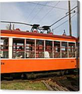 Rogers Trolley2 Canvas Print