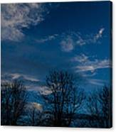 Rogue Valley Winter Eve Canvas Print