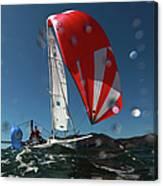 Rolex Big Boat Series Canvas Print