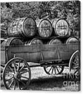 Roll Out The Barrels Canvas Print