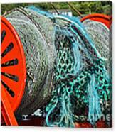 Rolled-up Nets Canvas Print