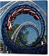 Roller Coaster 2 Canvas Print