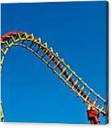Roller Coaster Curve Canvas Print