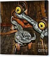 Roller Skates Vintage 4 Canvas Print