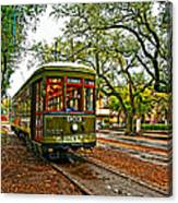 Rollin' Thru New Orleans Painted Canvas Print