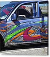 Rolling Art Lowrider Canvas Print