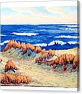 Rolling Dunes 330 O'clock Canvas Print