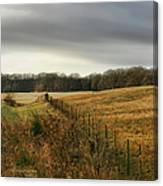Rolling Field Canvas Print