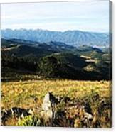 Rolling Mountain Morning Canvas Print