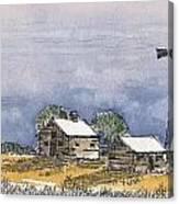 Rolling Plains Homestead Canvas Print