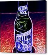 Rolling Rock Dark Canvas Print