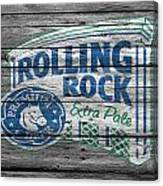 Rolling Rock Canvas Print