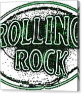 Rolling Rock Lager Canvas Print