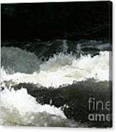 Rolling White Water Canvas Print