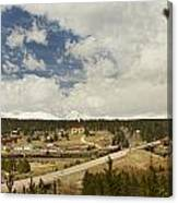 Rollinsville Colorado Canvas Print