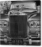 Rolls Royce Grill Canvas Print