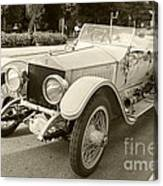 Rolls Royce Silver Ghost  Canvas Print