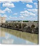 Roman Bridge Of Cordoba Canvas Print
