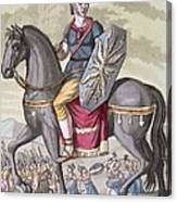 Roman Cavalryman Of The State Army Canvas Print
